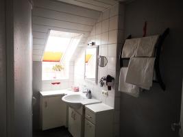 Doppelzimmer: das Badezimmer